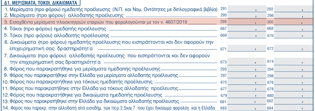 80471414722d Οι αλλαγές στο έντυπο Ε1 με τη νέα απόφαση της Α.Α.Δ.Ε. - Προσθήκες ...