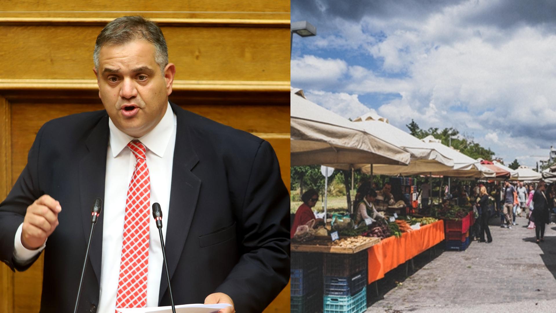 Βασίλης Σπανάκης :  Δεκτή η τροπολογία για την παράταση προθεσμιών και άρση ανάκλησης επαγγελματικών αδειών υπαίθριου εμπορίου για κοινωνικούς λόγους