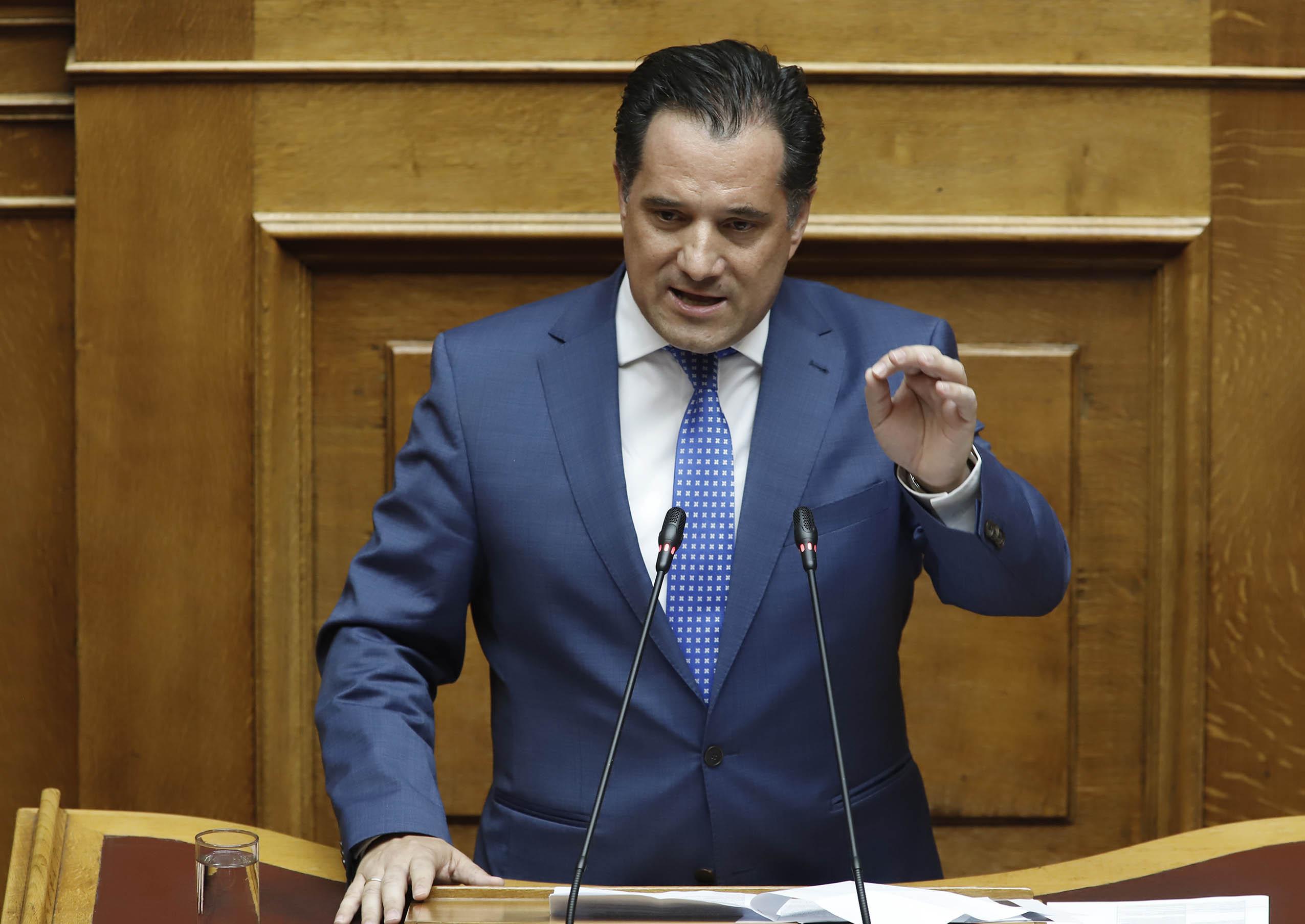 Α. Γεωργιάδης: «Ηλεκτρονικό σύστημα αδειοδοτήσεων και ενιαίος ψηφιακός χάρτης»