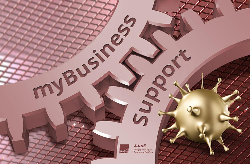 Επιστρεπτέα προκαταβολή - ΣΥΝ-ΕΡΓΑΣΙΑ : Διευκρινίσεις από την ΑΑΔΕ για την πλατφόρμα myBusinessSupport