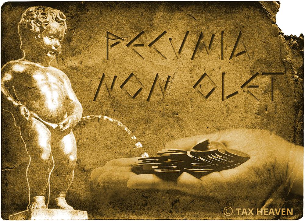 Ο φόρος των ούρων - «Το χρήμα δεν έχει μυρωδιά» («Pecunia non olet»)