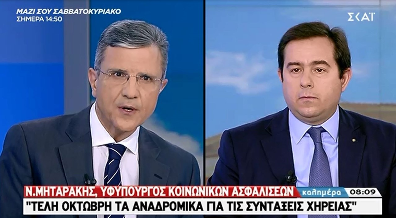 Ν. Μηταράκης: «Δεν θα βρεθεί κανείς εκτός της ρύθμισης των 120 δόσεων»