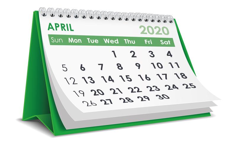 (Upd) Σημαντικές φορολογικές και λοιπές υποχρεώσεις μηνός Απριλίου 2020