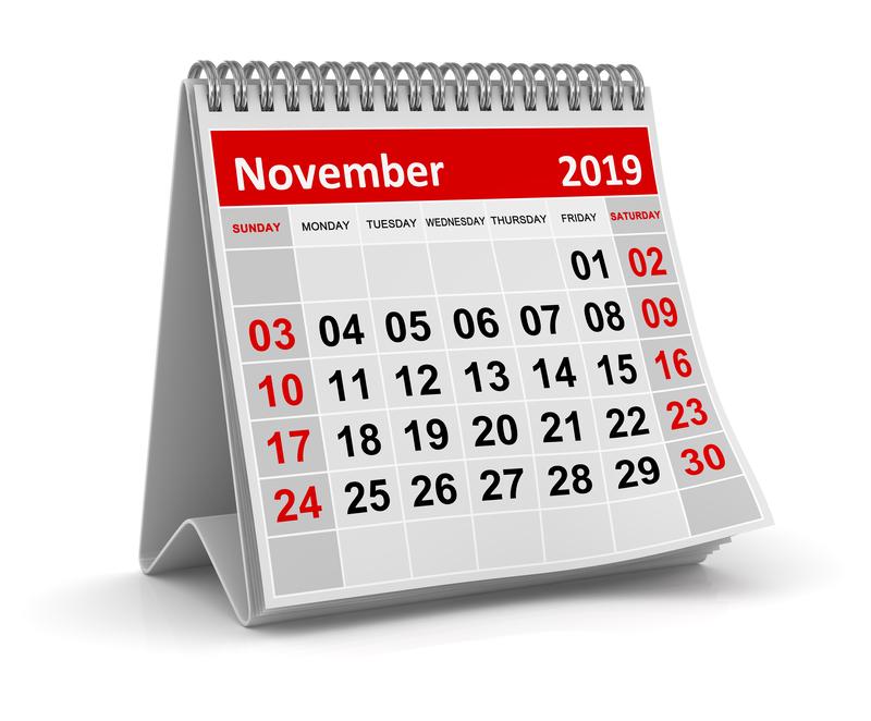 Σημαντικές φορολογικές και λοιπές υποχρεώσεις μηνός Νοεμβρίου και 2ας Δεκεμβρίου 2019