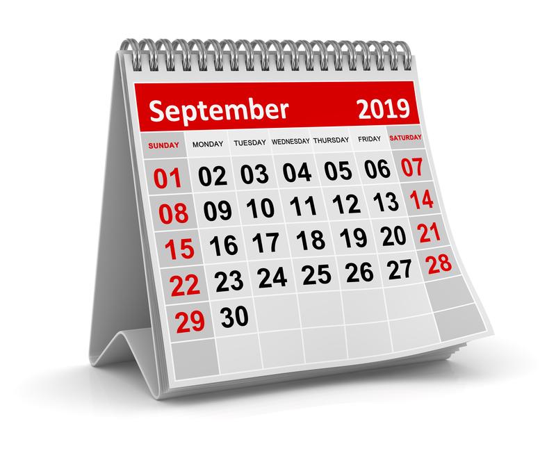 Σημαντικές φορολογικές και λοιπές υποχρεώσεις μηνός Σεπτεμβρίου 2019