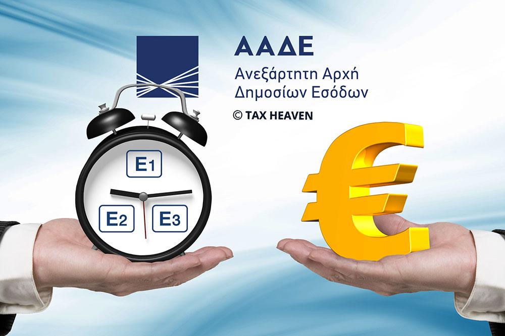 Φορολογικές δηλώσεις μέχρι 27.08 - Μέτρα φορολογικής ελάφρυνσης και διευκόλυνσης νοικοκυριών και επιχειρήσεων