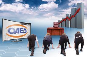 Δημιουργία νέων θέσεων εργασίας μέσω των προγραμμάτων απασχόλησης του ΟΑΕΔ στο 4ο τρίμηνο του 2020, με αύξηση 205% σε ετήσια βάση