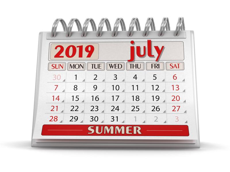 Σημαντικές φορολογικές και λοιπές υποχρεώσεις μηνός Ιουλίου 2019