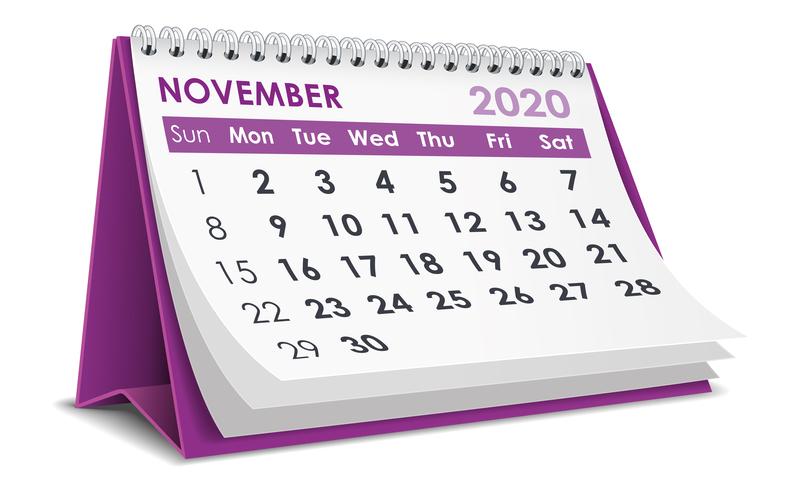 Σημαντικές φορολογικές και λοιπές υποχρεώσεις μηνός Νοεμβρίου 2020