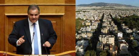 Την παράταση της προθεσμίας διόρθωσης των αρχικών κτηματολογικών εγγραφών ζητάει ο Βασίλης Σπανάκης