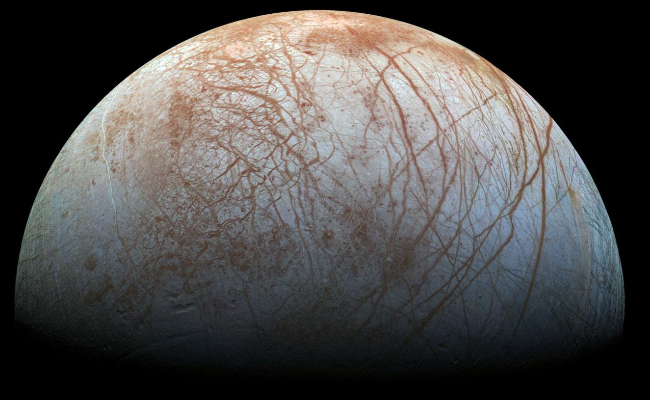 Σημαντικές ανακοινώσεις προανήγγειλε η NASA: Η «Ευρώπη» το πιθανότερο σημείο για εξωγήινη ζωή