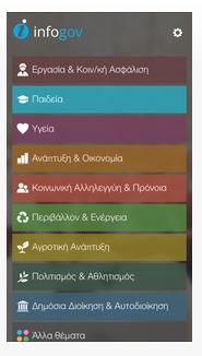 Ένα μήνα λειτουργίας συμπλήρωσε η εφαρμογή «infogov»