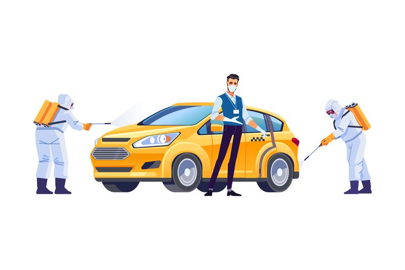 Μέτρα προστασίας σε επιβατηγά οχήματα δημόσιας και ιδιωτικής χρήσης