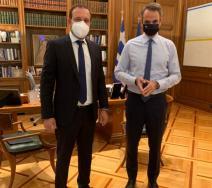 Συνάντηση του Προέδρου του ΟΕΕ με τον Πρωθυπουργό