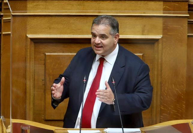 Β. Σπανάκης: Την άμεση λήψη μέτρων για την ασφάλεια των εργαζομένων στις Φορολογικές Υπηρεσίες ζητά με ερώτησή του στη Βουλή