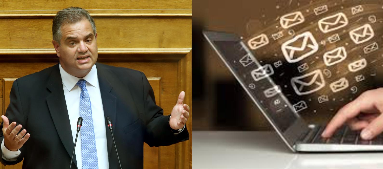 Την ηλεκτρονική ενημέρωση των ιδιοκτητών ακινήτων για τη δυνατότητα δήλωσης των αδήλωτων τετραγωνικών μέτρων, ζητάει ο Βουλευτής Βασίλης Σπανάκης