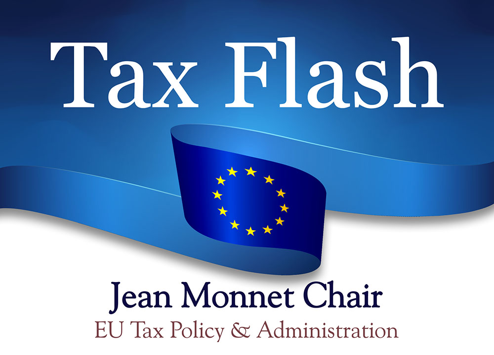 Tax Flash: Η Ευρ. Επιτροπή ανακοίνωσε ότι θα προσφύγει ενάντια στην απόφαση του Γενικού Δικαστηρίου αναφορικά με τις φορολογικές κρατικές ενισχύσεις της Apple στην Ιρλανδία
