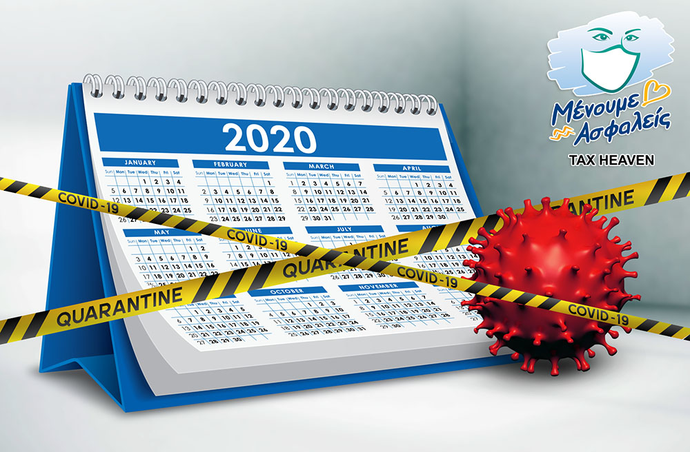 Ποιές δραστηριότητες (ΚΑΔ) παραμένουν κλειστές για το διάστημα από 1.6.2020 έως 7.6.2020